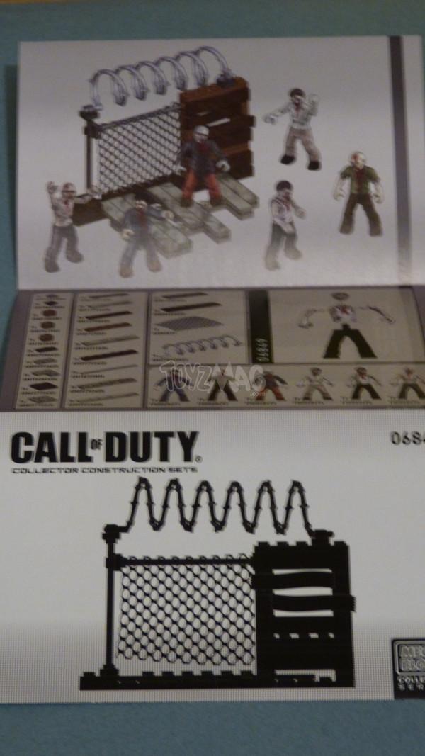mega bloks zombie pack 9