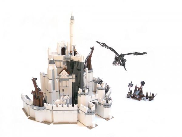 minas tirith lego ideas