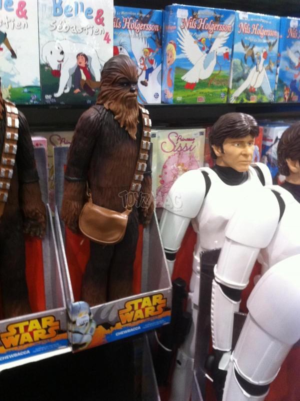 star wars Jakks Pacifics stormtrooper Luke Han