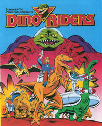 Mini comics Dino - Riders