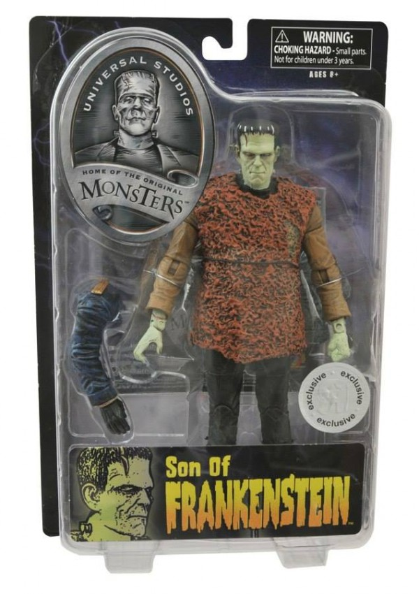 universal monster select frankenstein son