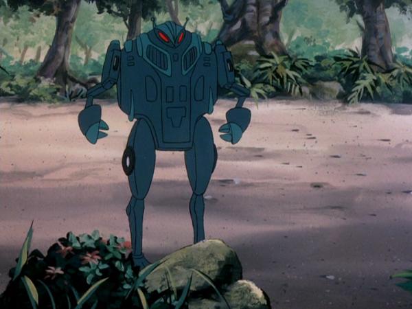 Casmodon animé mode robot