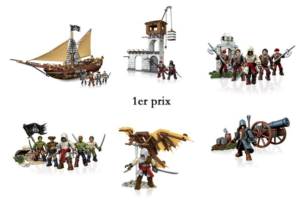 Concours Assassin's Creed Mega Bloks