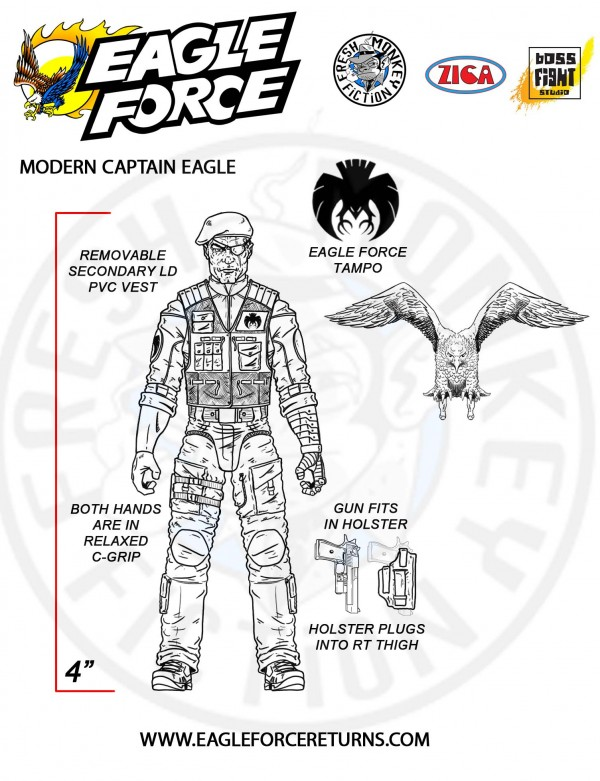 Fresh-Monkey-Fiction-Zica-Toys-Eagle-Force-Captain-Eagle