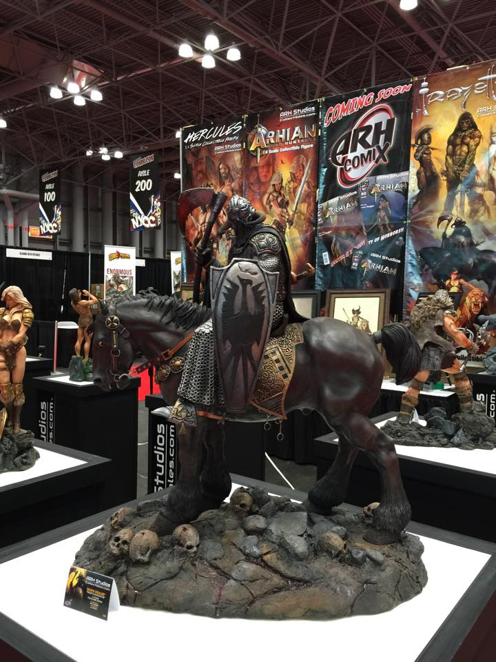 arh frazetta death dealer nycc 1