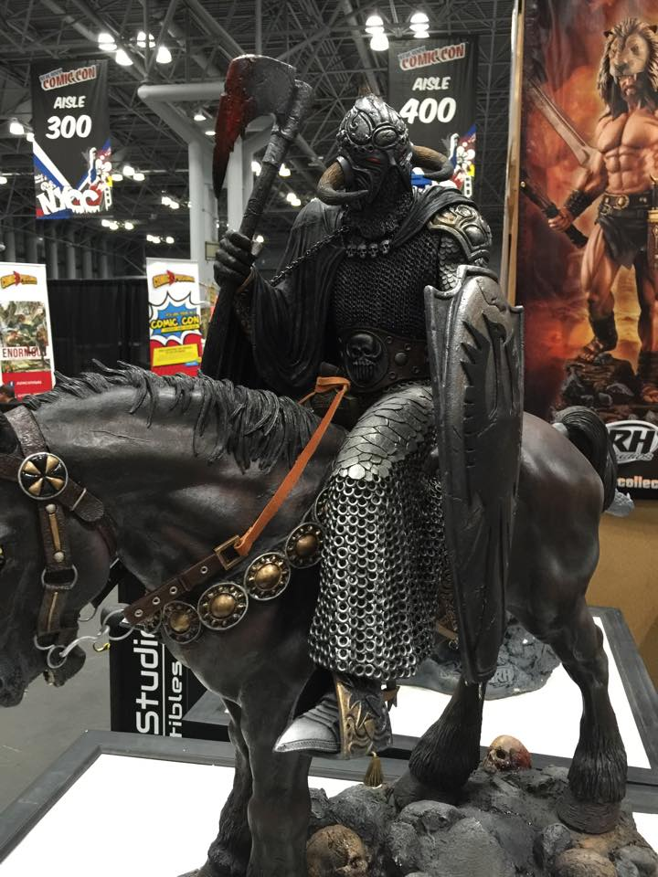 arh frazetta death dealer nycc 2