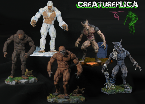 Creatureplica yeti horrorhound sasquatch