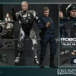 Robocop Battle Damaged et Murphy par hot Toys