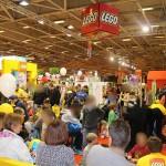 #kidexpo LEGO expose ses jouets pour Noël
