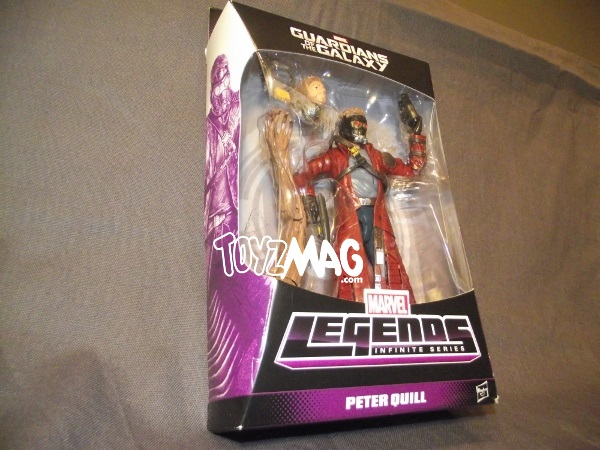 Marvel Legends Peter Quill : packaging