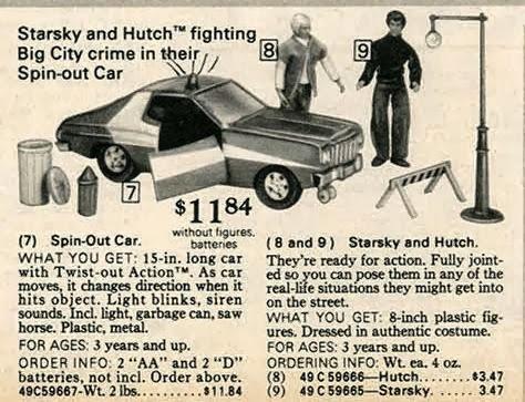 Publicité Starsky et Hutch Mego