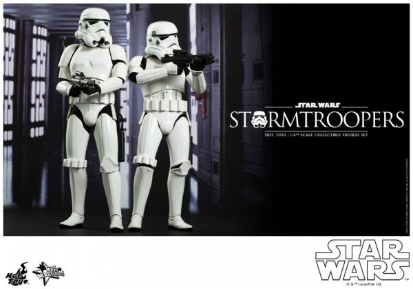 stormtroopers hot toys