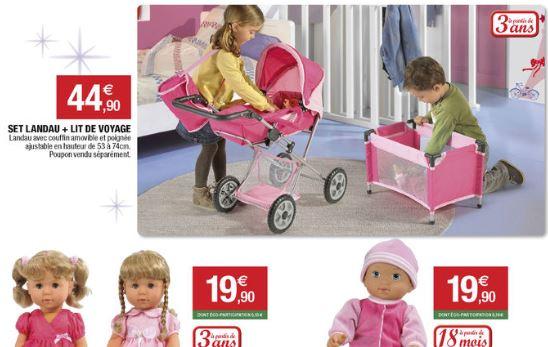 chaussures de séparation 94738 08e7f Catalogue jouets 2014 : Super U renonce à l'anti-sexisme ...