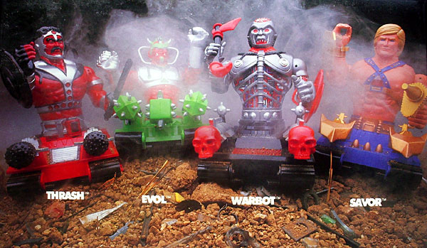 Beast Machines Power Lords