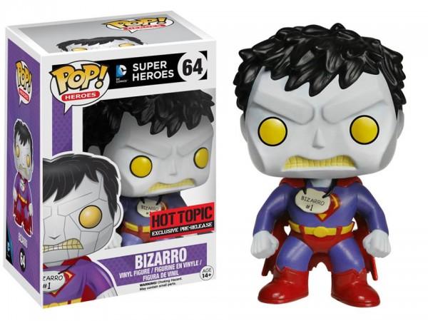 bizarro funko superman