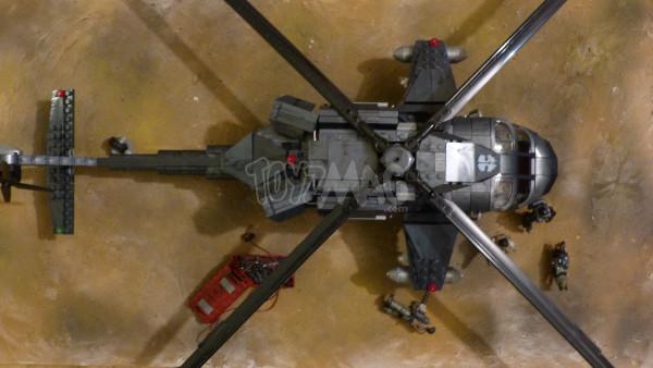 cod mega bloks heavy chopper 17