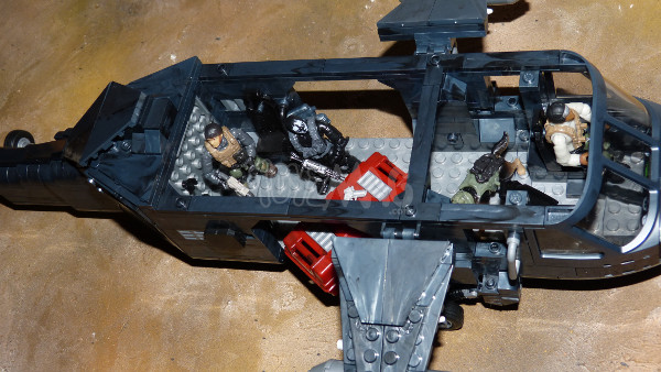 cod mega bloks heavy chopper 31