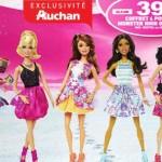 1 jour 1 jouet avec Auchan.fr : Coffret Exclusif 4 poupées Barbie