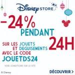 Bon Plan -24% sur DisneyStore.fr pendant 24h