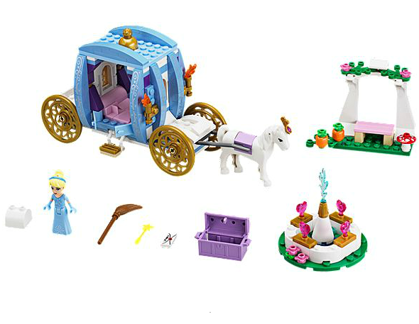 disney princess lego carrosse cendrillon
