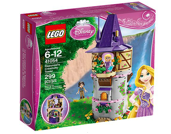 disney princess lego tour raiponce