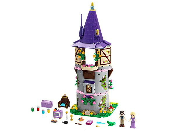 disney princess lego tour raiponce 1