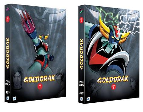 dvd goldorak box 2 et 3