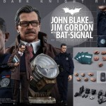 Batman : Jim Gordon et John Blake  par Hot Toys