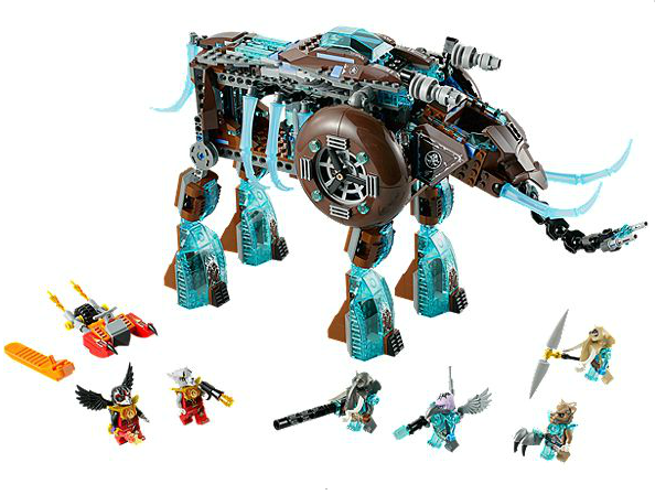 lego chima mamouth glaces