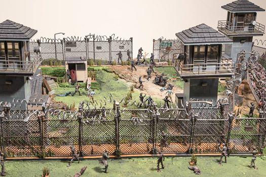 mcfarlane diorama walking dead