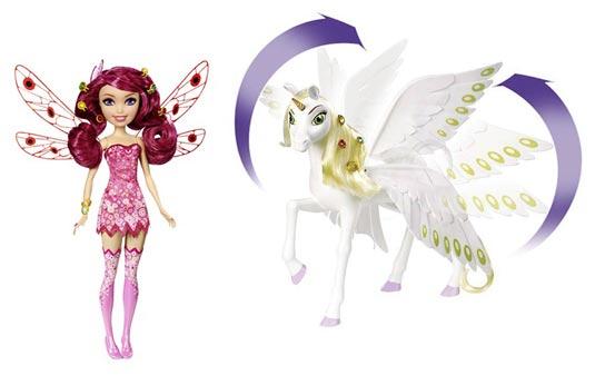mia et moi / Mattel poupée licorne