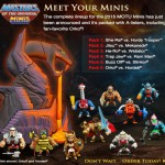 Mattel dévoile son line-up Motu Mini