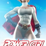 Power Girl Premium Format™ Figure par Sideshow Collectibles