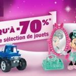 1 jour 1 jouet avec Auchan.fr : jusqu'à  70% de reduction sur les jouets