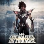 L'affiche française pour Les Chevaliers du Zodiaque - La légende du Sanctuaire