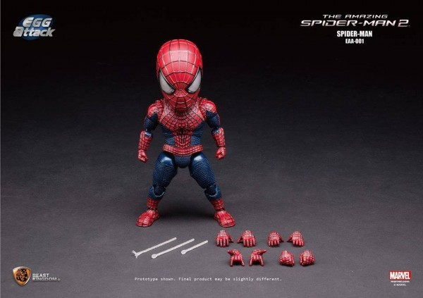 Egg Attack Action #001 Amazing Spider-Man2: Spider-Man by Beast Kingdom