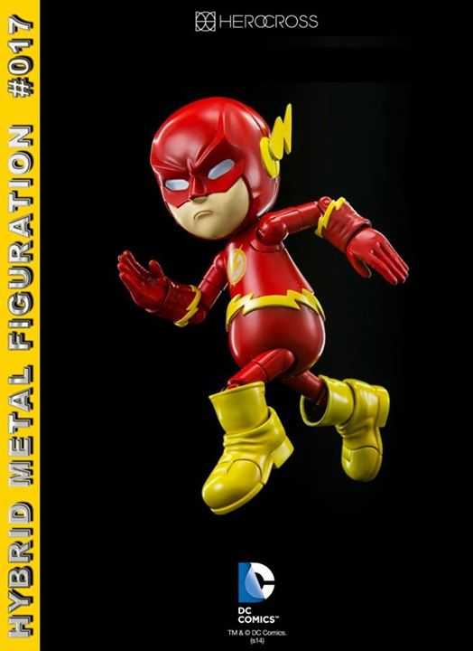 Hybrid Metal Figuration #017: DC Comics: Flash by 86 Hero