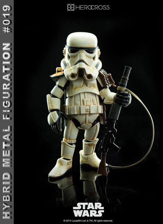 Hybrid Metal Figuration #019: Sandtrooper Squad Leader by 86 Hero