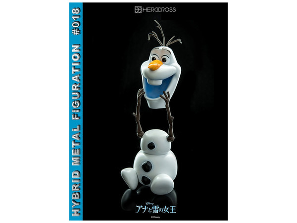 Hybrid Metal Figuration #018: Frozen - Olaf by 86 Hero