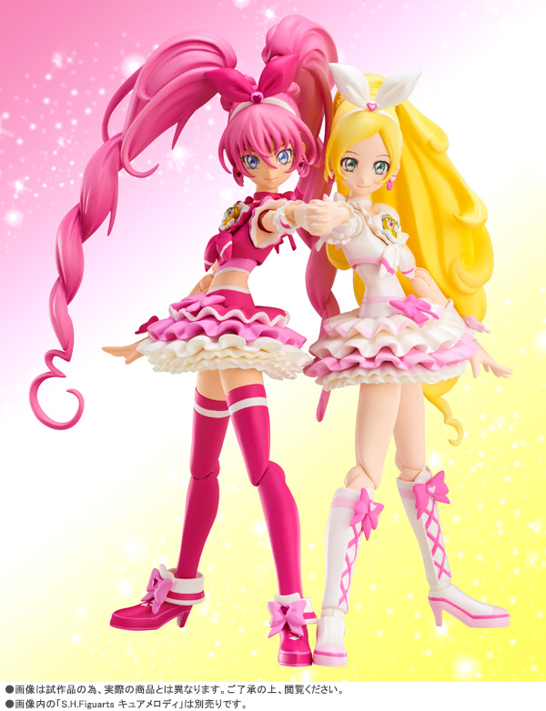 S.H.Figuarts Pretty Cure Cure Melody Cure Rhythm