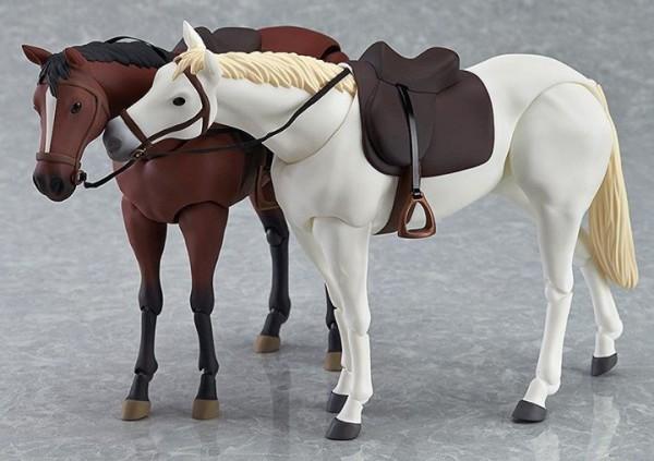 figma chevaux Horses White Chestnut