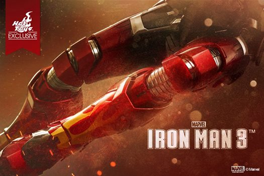 hot toys teaser iron man