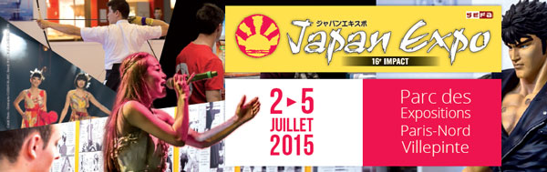 japan expo 16e Impact DU 2 AU 5 JUILLET 2015