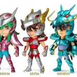 Une série de mini figurines Saint Seiya par Kids Logic