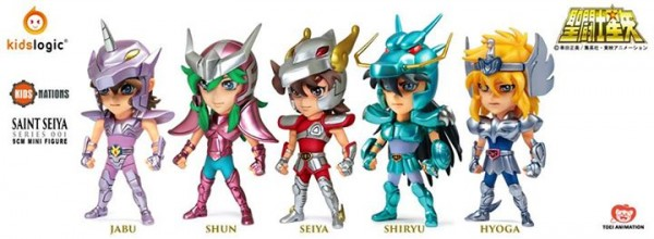 kids nations saint seiya mini