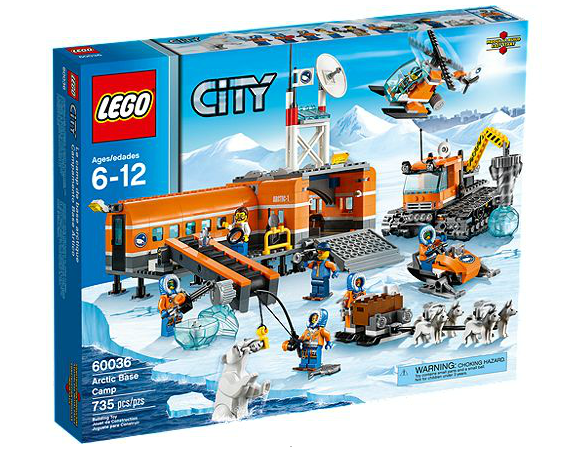 lego city arctic camp de base packaging