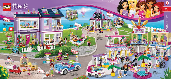 lego friends 2015