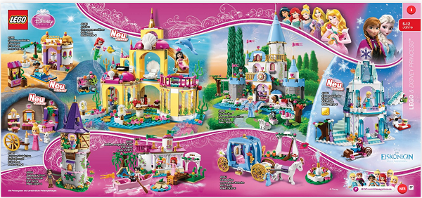 lego princess disney