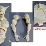 Creatureplica : retour d'usine des proto