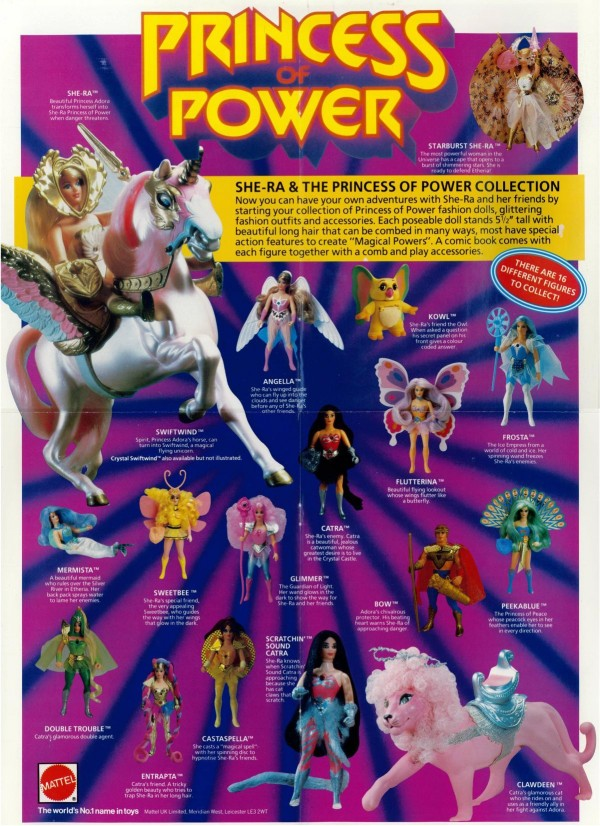 Gamme de jouets Princess of Power